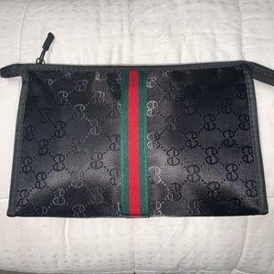 Travel Pochette supreme quality gg style pouch bag
